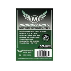 """Протекторы для настольных игр Mayday Premium """"Card Game"""" (63,5x88) - 50 штук"""