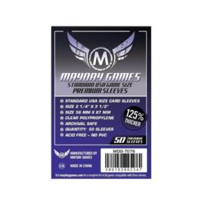 Протекторы для настольных игр Mayday Premium USA Board Game (56×87) – 50 штук