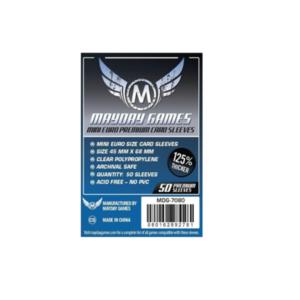 """Протекторы для настольных игр Mayday Premium """"Mini European"""" (45х68) – 50 штук"""