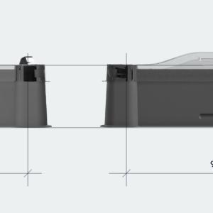 Кардтрей для стандартных карт UTS Model 01