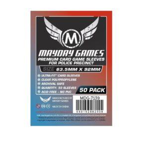 """Протекторы для настольных игр Mayday Premium """"Card Game"""" (63,5×92) – 50 штук"""