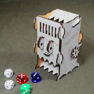 Башня для бросания кубиков – Dice Crusher серый