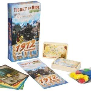 Ticket to Ride. Европа 1912