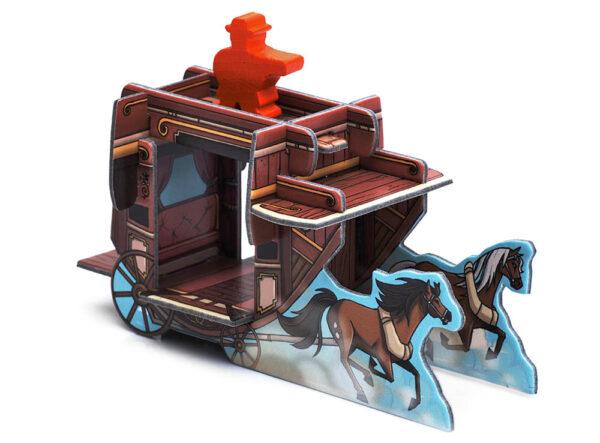 Кольт Экспресс: Лошади и дилижанс